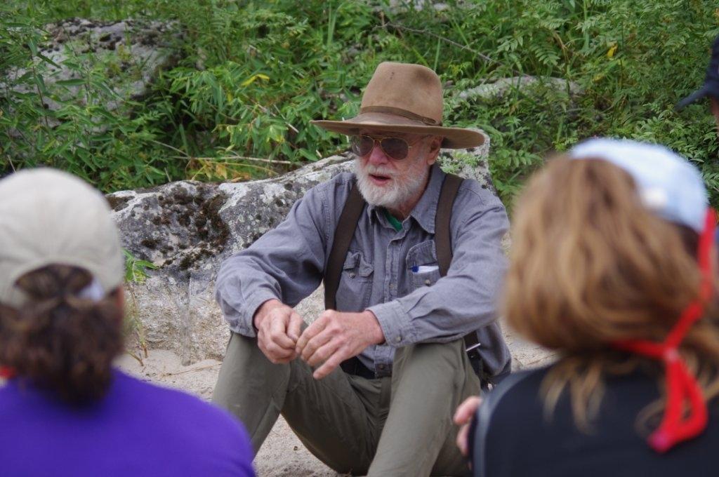 Salmon River story teller