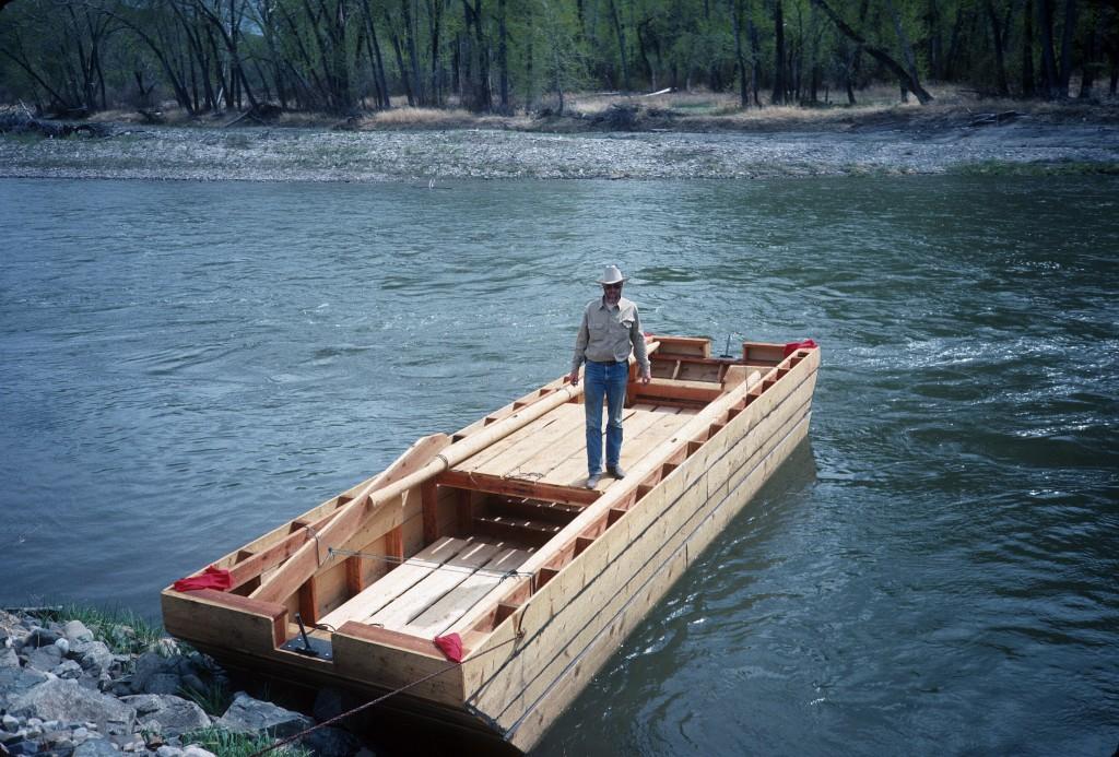 Salmon River Scow