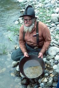 Salmon River gold mining