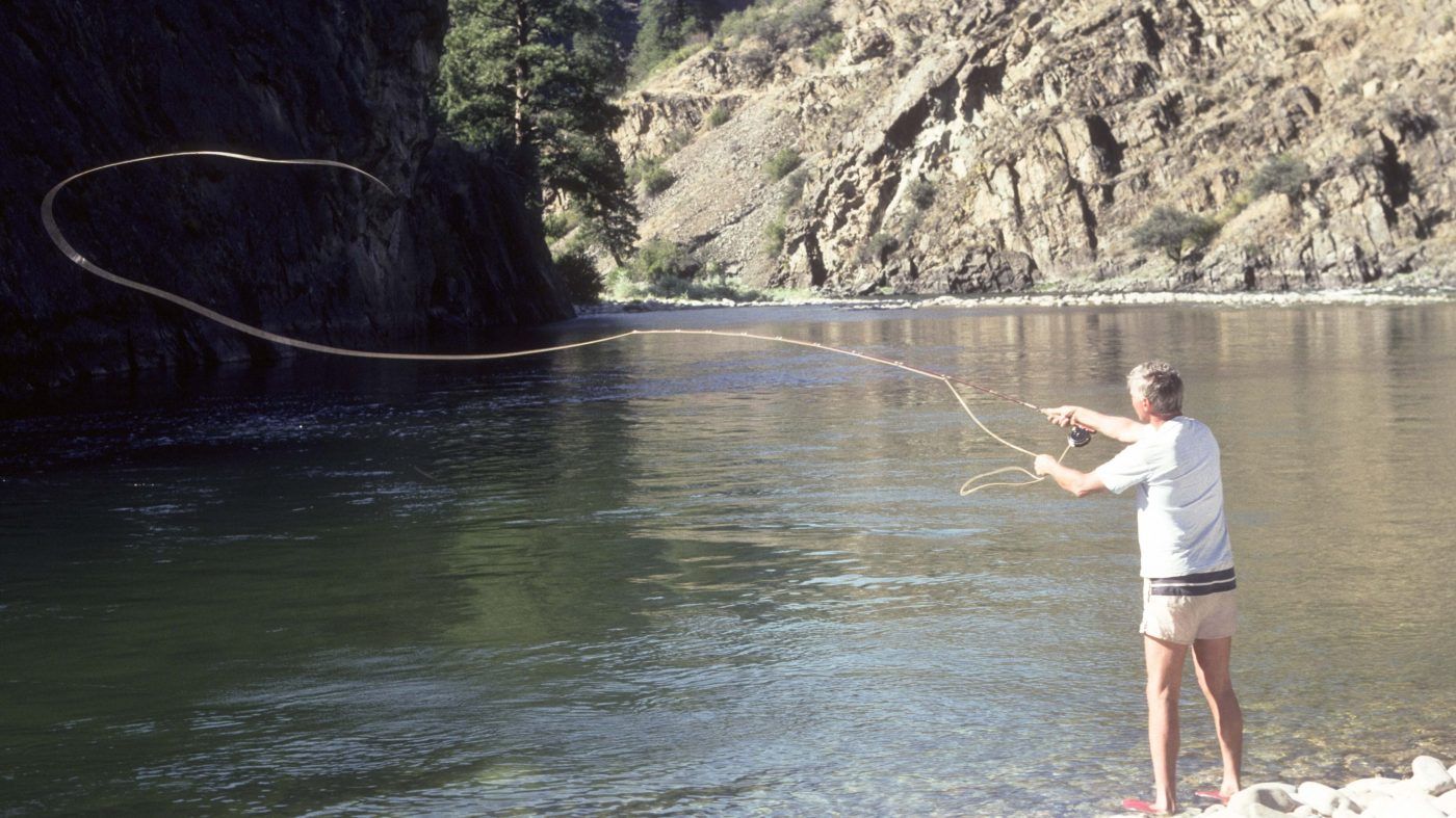 Best time to fly fish idaho 39 s middle fork of the salmon river for Best fly fishing in us