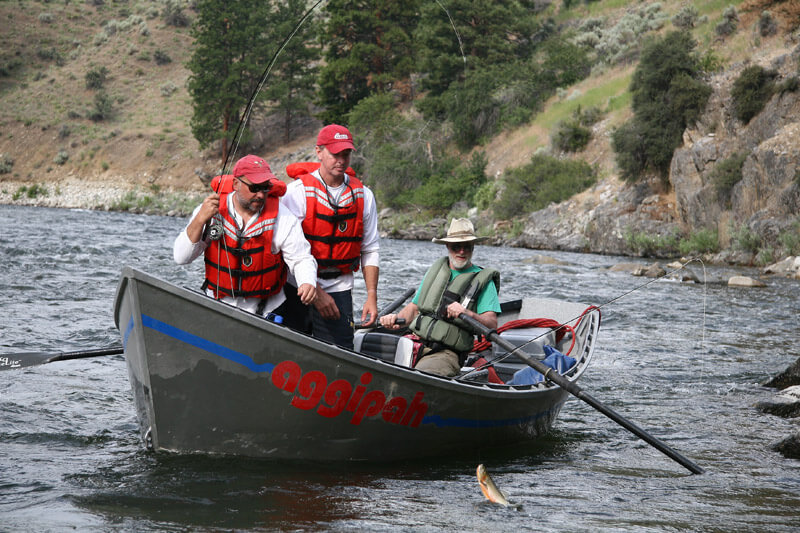 fly fishing drift boat Fishing with Bill Bernt on the Salmon River