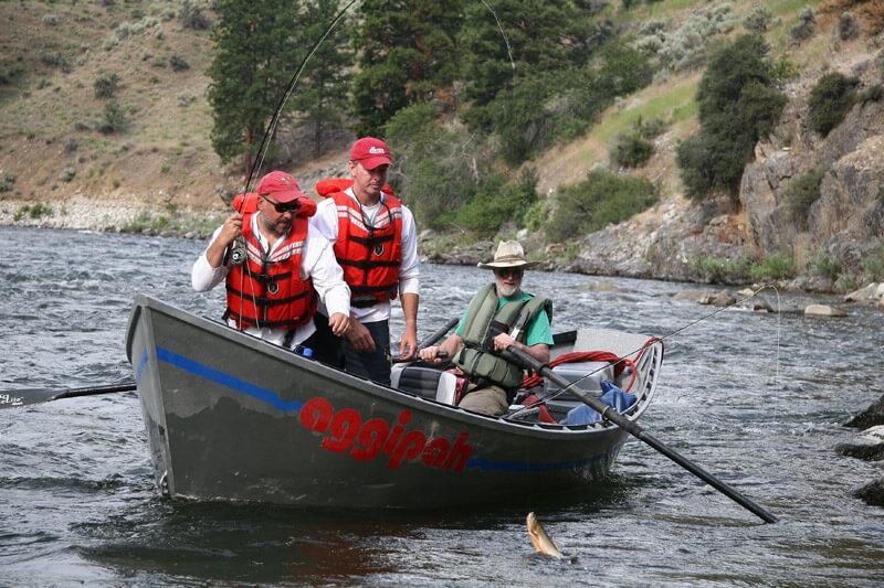 Trout steelhead fishing trips on the salmon river in idaho for Fly fishing boise idaho