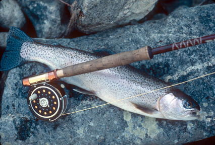 fly fishing Idaho's Middle Fork Salmon River