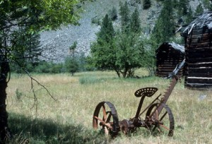 Visit old homesteads off the Salmon River and experience the old west