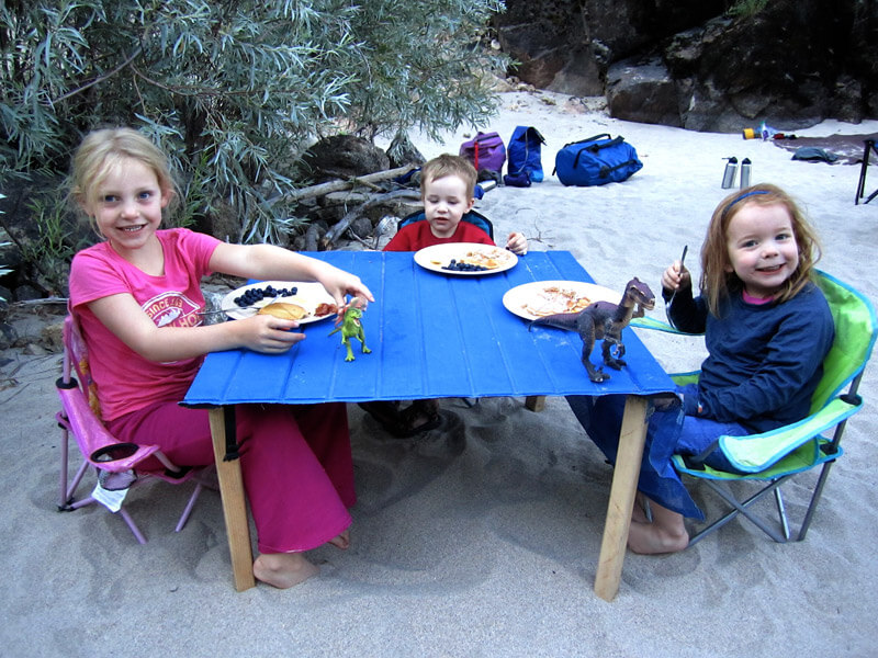 Kids and family whitewater rafting trips