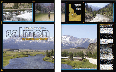 Fly Fishing America – Idaho Fly Fishing Guides for Trout on Middle Fork of the Salmon River