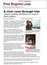 A River Runs Through Him, Idaho Falls Post Register