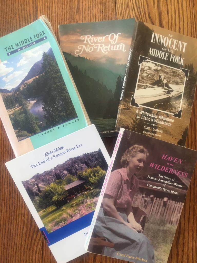 Salmon River books