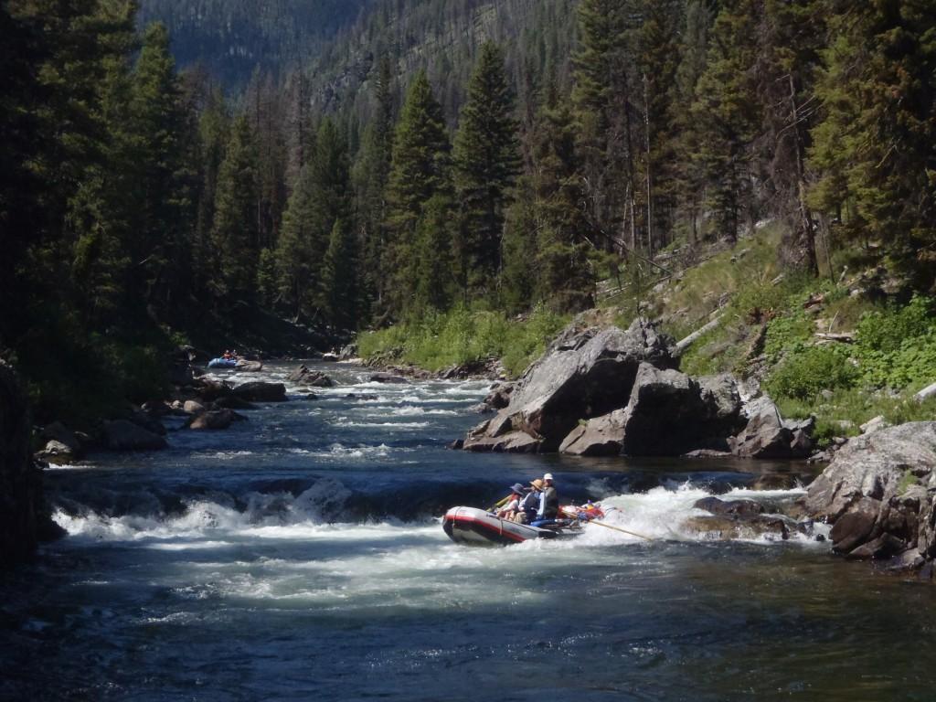 salmon river whitewater Velvet Falls Middle Fork