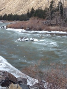 Icy Salmon River