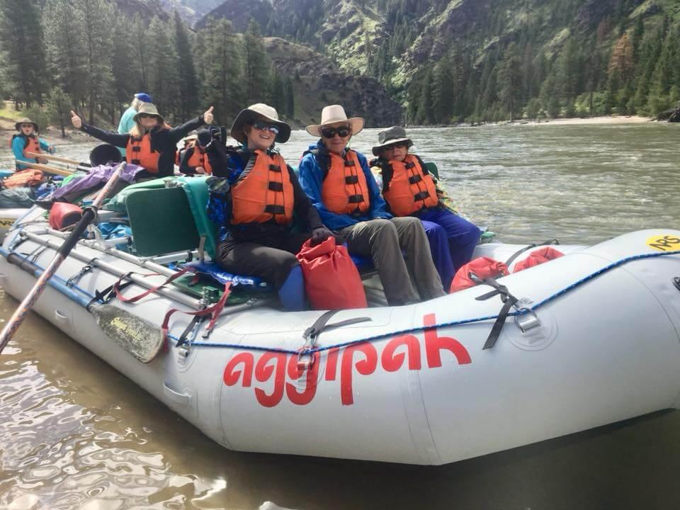 women's river trips